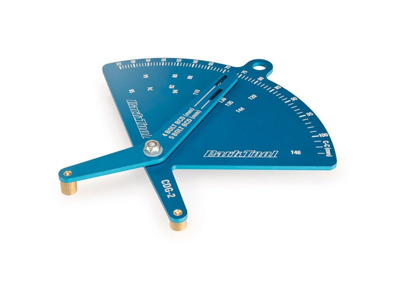 PARK TOOL Chainring Bolt Circle Diameter Gauge CDG-2 click to zoom image