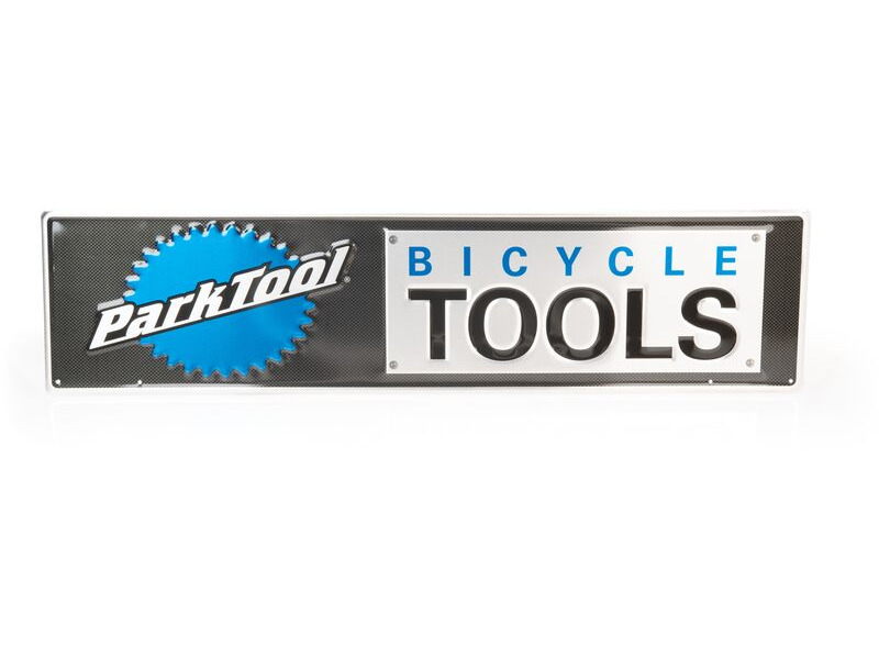 PARK TOOL MLS-2 - Metal Park Bicycle Tools Sign click to zoom image