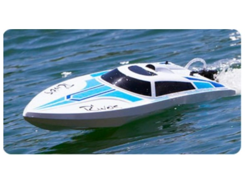 HELION Rivos Speed Boat RTR (Ready-To-Run)� Water Cooled click to zoom image