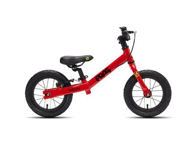 FROG Tadpole 12W Balance Bike 12in wheel Red Alloy frame  click to zoom image
