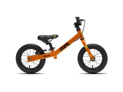 FROG Tadpole 12W Balance Bike 12in wheel Orange Alloy frame  click to zoom image