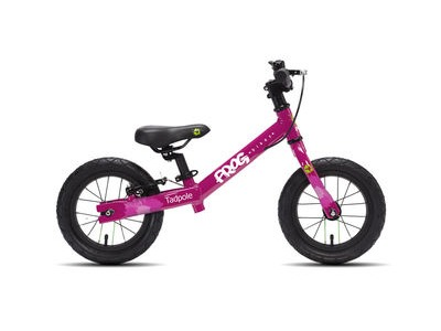 FROG Tadpole 12W Balance Bike 12in wheel Pink Alloy frame  click to zoom image