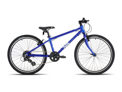 "FROG 62 24W Kids Bike 24"" wheel Electric blue  click to zoom image"