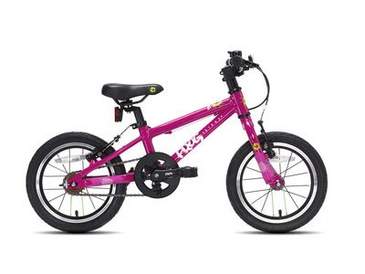 "FROG 40 / 43 14W Kids Bike 14"" wheel Pink  click to zoom image"