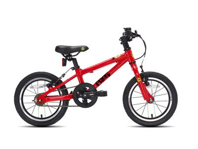 "FROG 40 / 43 14W Kids Bike 14"" wheel Red  click to zoom image"