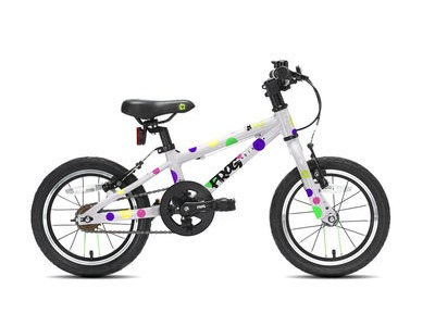 "FROG 40 / 43 14W Kids Bike 14"" wheel Spotty  click to zoom image"