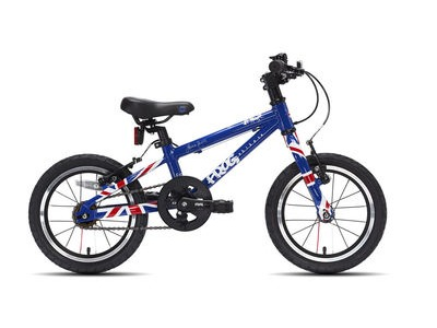"FROG 40 / 43 14W Kids Bike 14"" wheel Union Jack  click to zoom image"