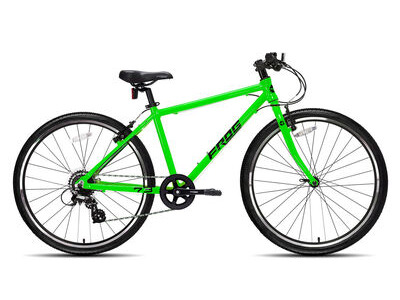 "FROG 73 26W Kids Bike 26"" wheel Neon Green  click to zoom image"