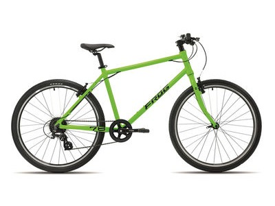 "FROG 78 26W Kids Hybrid Bike 26"" Wheel Neon Green  click to zoom image"