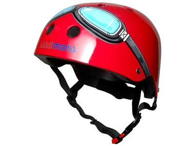 FROG Kiddimoto Red Goggle Helmet (Medium)