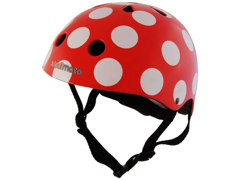 FROG Kiddimoto Red Dotty Helmet (Medium) click to zoom image