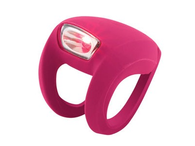 FROG Knog Strobe Light - Rear Red LED  Rose  click to zoom image