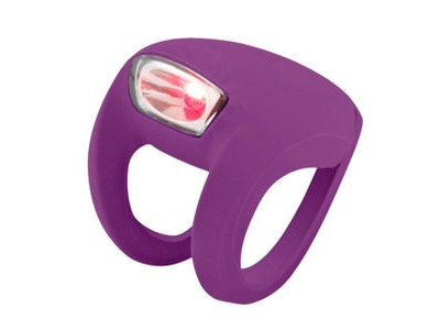 FROG Knog Strobe Light - Rear Red LED  Purple  click to zoom image
