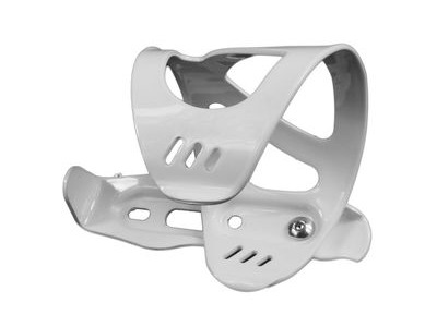 FROG Side Entry Bottle Cage  White  click to zoom image