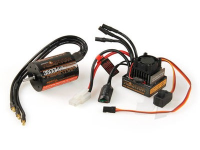 RADIENT Reaktor ESC and Motor Combo Set 3500kv Sensorless 540 Size 1/10th Scale