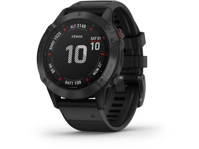 GARMIN Fenix 6 Pro GPS watch Small Black  click to zoom image