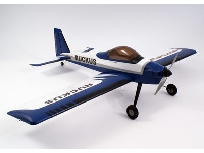 MAX THRUST Ruckus PNP Wingspan	1380mm Blue/White  click to zoom image
