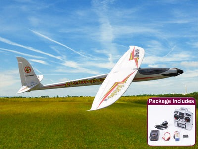 MAX THRUST Lightening 1500 Electric Glider RTF