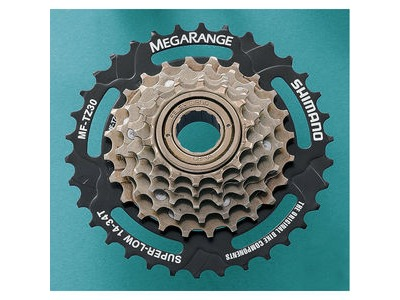 SHIMANO MF-TZ31 7-speed multiple freewheel, 14-34 T MegaRange