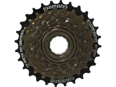 SHIMANO MF-TZ20 6-speed multiple freewheel, 14-28 T