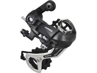 SHIMANO RD-TX35 6 / 7-speed rear derailleur with mounting bracket