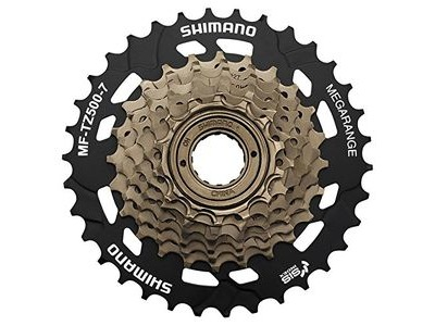 SHIMANO MF-TZ500 7-speed multiple freewheel, 14-34 tooth