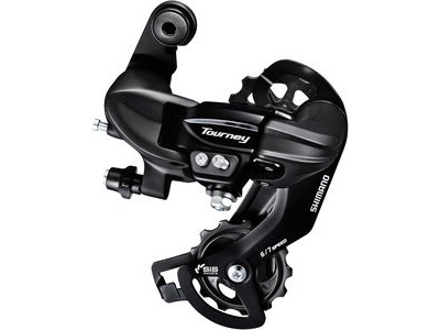 SHIMANO RD-TY300 6/7-speed rear derailleur (Mounting option).