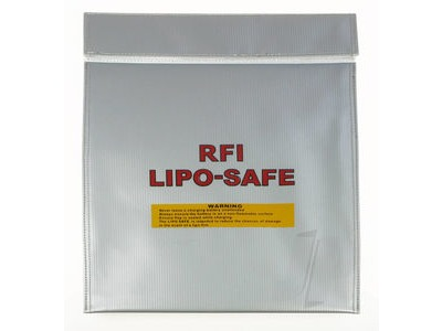 RFI Fire Proof Lipo Safe Charging Sack - Large