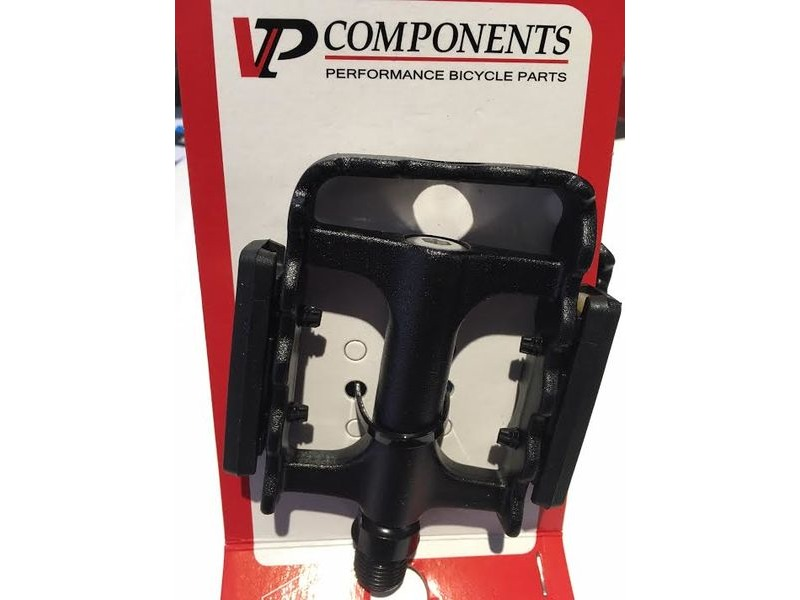 "VP COMPONENTS Pedals Urban alloy sandblast black 9/16"" click to zoom image"