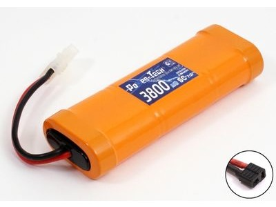POWER-TECH 7.2V 3800MAH NI-MH PACK DEANS STYLE CONNECTOR