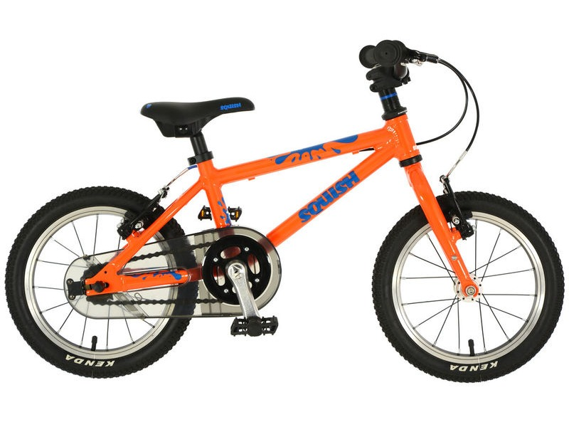 SQUISH BIKES 14 Orange/Blue click to zoom image