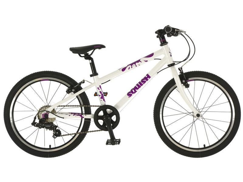 SQUISH BIKES 20 White/Purple click to zoom image