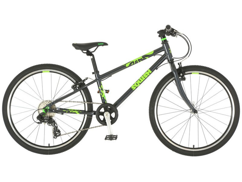 SQUISH BIKES 24 Grey/Green click to zoom image