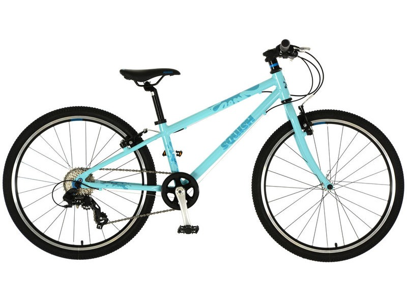 SQUISH BIKES 24 Bright Mint/Blue click to zoom image