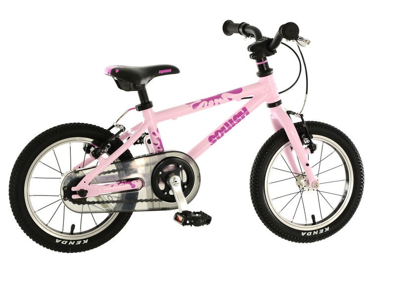 SQUISH BIKES 14 Baby Pink Lightweight click to zoom image