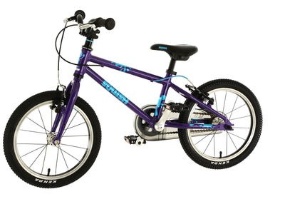 SQUISH BIKES 16 PURPLE/BLUE