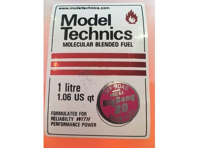 MODEL TECHNICS Big Bang 20% 1 Litre Glow Fuel