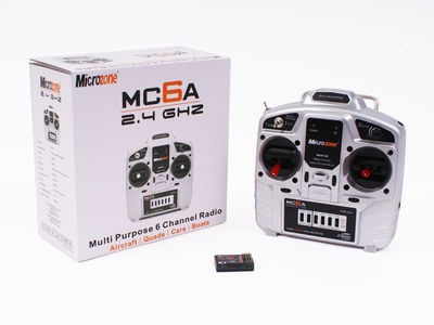 MICROZONE MC6A Transmitter & Receiver 6 Ch 2.4Ghz Set