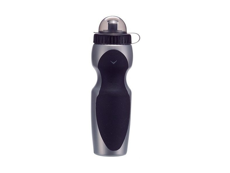 PREMIER Water Bottle 750ml Black / Silver click to zoom image