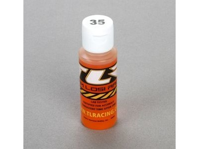 TLR Silicone Shock Oil, 35 Wt, 2 Oz