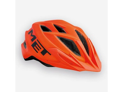MET Crackerjack Orange Helmet (Small)
