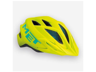 MET Crackerjack Yellow Helmet (Small)