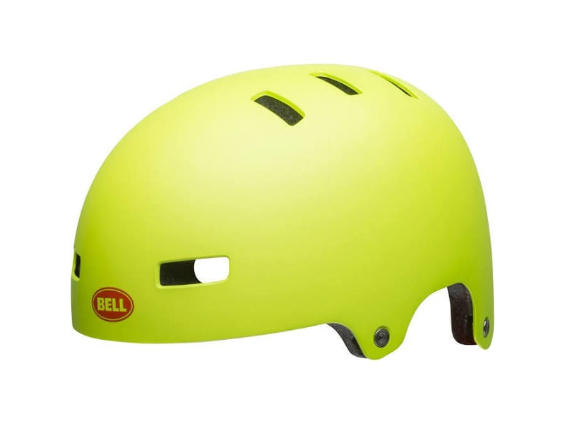 BELL Span Youth Matte Bright Green click to zoom image