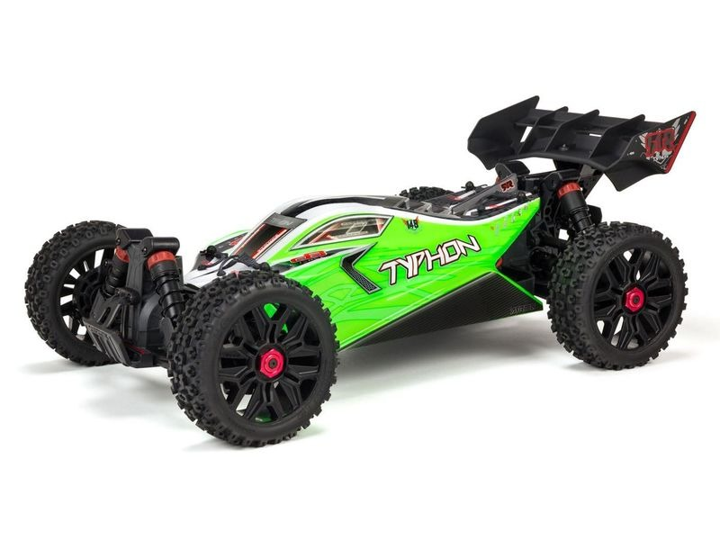 ARRMA Typhon 4X4 550 Mega Brushed 1/8TH 4WD Buggy RTR click to zoom image