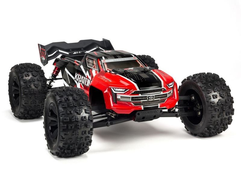 ARRMA KRATON 6S 4WD BLX 1/8 RTR Red click to zoom image