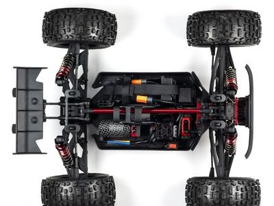ARRMA NOTORIOUS 6S 4WD BLX 1/8 RTR Black click to zoom image