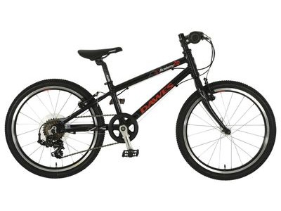 "DAWES Academy 20 20"" wheel Black/Red Alloy Frame  click to zoom image"