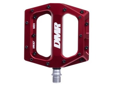 DMR Vault Midi Flat Pedal Red  click to zoom image