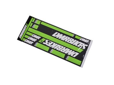 DMR SLED Sticker Kits  Ninja Green  click to zoom image