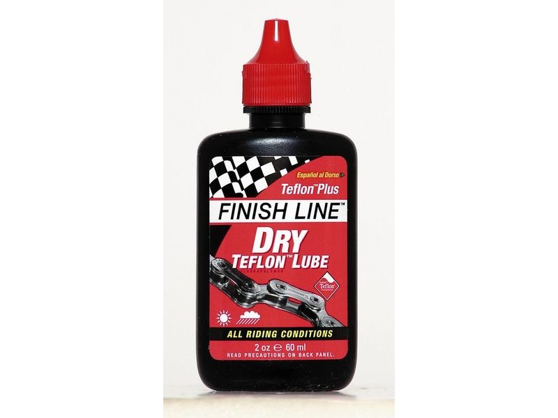 FINISH LINE Teflon Plus Dry chain lube 4 oz / 120 ml click to zoom image